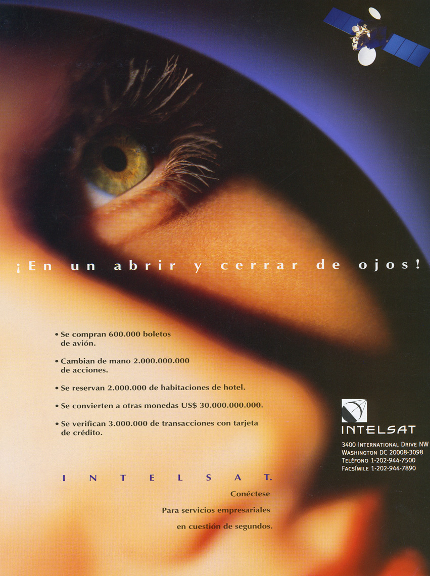 INTELSAT-EYEBALL